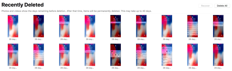 Accidental Screenshots on iPhone X