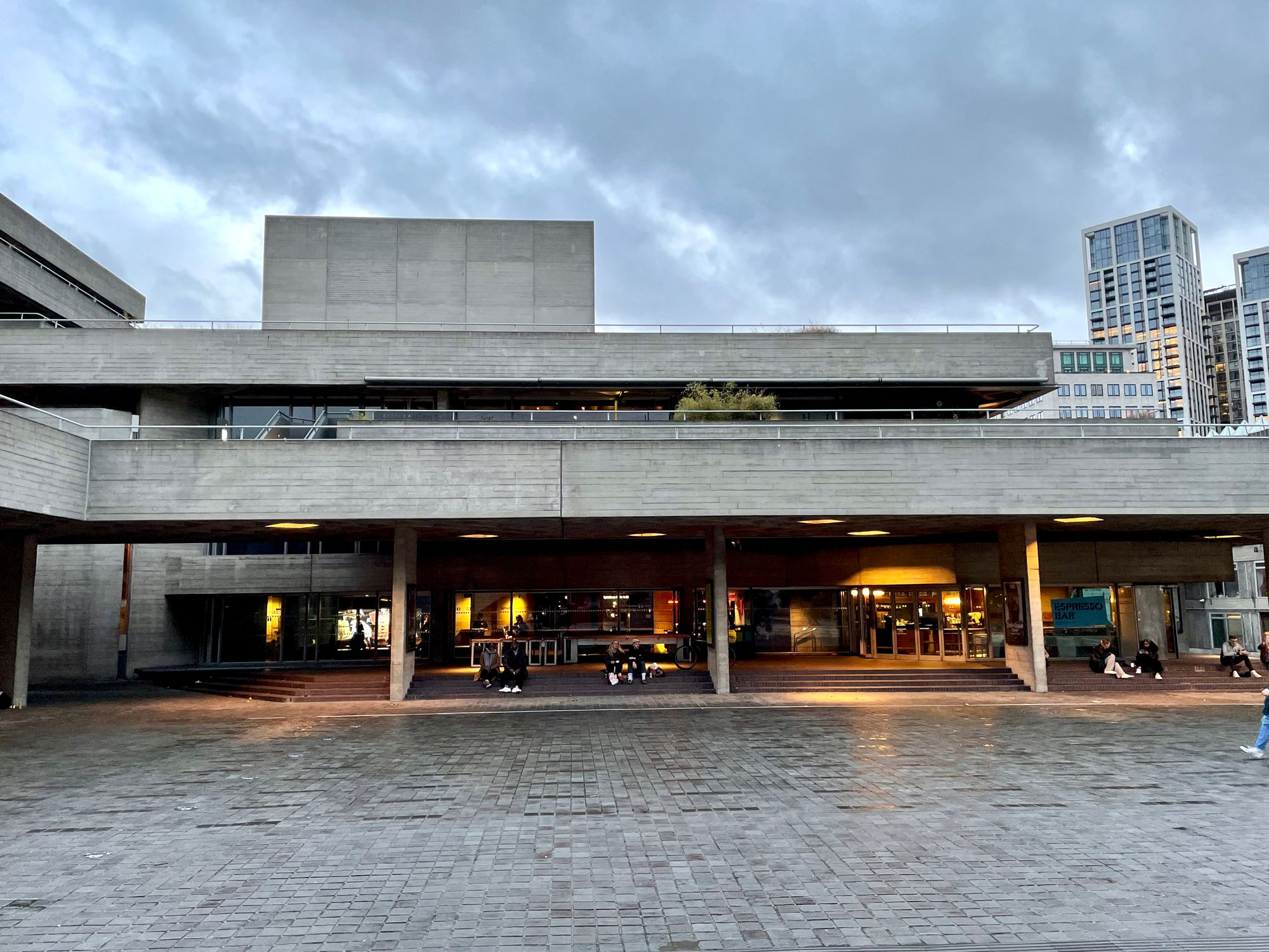 Getting darker at the National Theatre